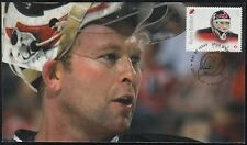 CANADA # 2872.10 MARTIN BRODEUR HOCKEY STAMP on FIRST DAY COVER, ONLY 6 MADE