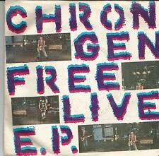 CHRON GEN Free live EP UK EP SECRET RECORDS