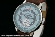 Commanders Military style vintage Soviet navy wrist watch Submarine