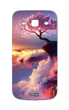CUSTODIA COVER CASE ALBERO MONTAGNA PER SAMSUNG GALAXY CORE PLUS G350