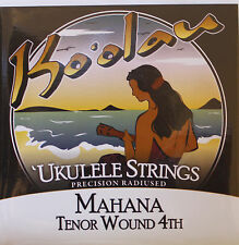 Ukulele strings Ko'olau Mahana tenor regular tuning wound 4th KMT4