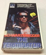 VINTAGE VHS Video Tape Clamshell The Terminator Movie Thorn Emi 1984