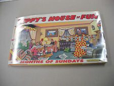 "1ST ED ""ZIPPY`S HOUSE OF FUN"" BY BILL GRIFFITH! 54 MONTHS OF SUNDAYS IN COLOR!"