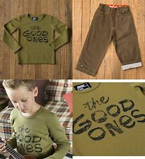 The Good Ones boys Matilda Jane NEW outfit thermal shirt pants 5T 5 6 FREESHIP