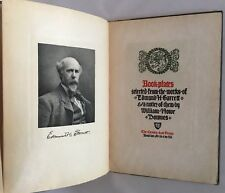 1904 Bookplates Selected From Works Of Edmund Garrett Signed And Numbered 8/35