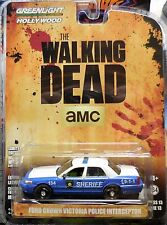 Green Light Hollywood Series 13 The Walking Dead Ford Crown Victoria Police Car
