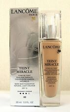 Lancome Teint Miracle Foundation - 30ml - Beige Diaphane - 03 - Boxed