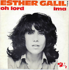 ESTHER GALIL OH LORD / IMA FRENCH 45 SINGLE