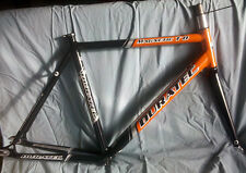 Duratec Magnetic T8 Aluminum Track Frame with carbon forks 54cm w/ sealed BB