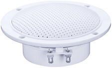 "4"" 60W Water Resistant Speakers  ceiling panel marine boat bathroom shower sauna"