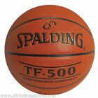 SPALDING TF-500 COMPOSITE LEATHER BASKETBALL (29.5 OFFICIAL SIZE)