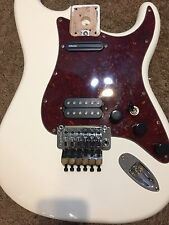Fender Stratocaster Body Loaded Pickguard with Original Floyd Rose