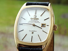 VINTAGE OMEGA CONSTELLATION AUTOMATIC CHRONOMETER 18K MASSIV GOLD. TOP!
