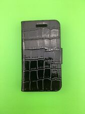 LUXURY PU BLACK LEATHER CASE for Samsung Galaxy Ace GT-S5830/GT-S5830i