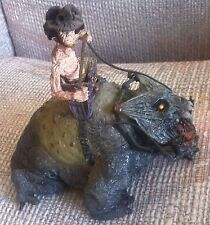 McFARLANE TWISTED LAND OF OZ THE TOTO DOG WITH MUNCHKIN RIDER 2003