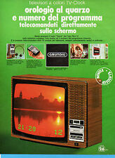 (AM) EPOCA976-PUBBLICITA'/ADVERTISING-1976- GRUNDIG COLORE 26 POLLICI (vers. A)