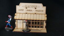 Wargames Scenery Pawn Shop Building Wild West - Great for Malifaux