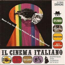 IL CINEMA ITALIANO - Music from the Films of M. Mastroianni - CD DENON New