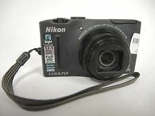 Nikon Coolpix S8100  12.1 MB, 10x Zoom Camera  (31638)