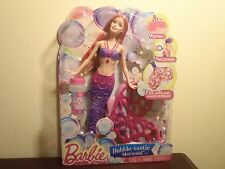 BARBIE BUBBLE-TASTIC MERMAID DOLL. NEW