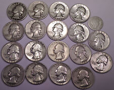 One quarter pound (4 oz) of  90% US Silver Coins  -   Lot B111  -  FREE SHIPPING