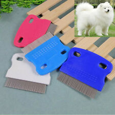 2016 Portable Durable Pet Puppy Cat Flea Cleaning Comb Grooming Brush Randomly