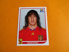 565 PUYOL ESPAÑA ESPAGNE PANINI FOOTBALL FIFA WORLD CUP 2010 COUPE DU MONDE