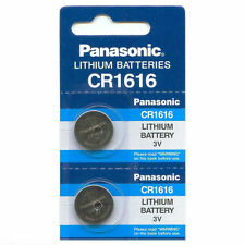 NEW 2 Pcs PANASONIC CR1616 ECR1616 CR 1616 3V Lithium Batteries