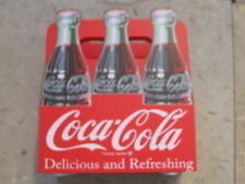 Coca-Cola Wood 6-Pack Napkin Holder  - NIB