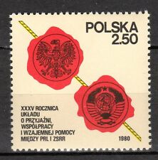 Poland - 1980 35 years cooperation with Russia - Mi. 2681 MNH