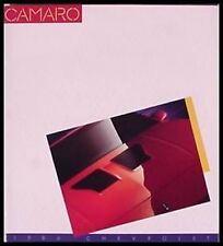 1986 CAMARO Prestige Brochure IROC Z28 COUPE