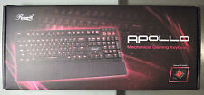 Rosewill Apollo Mechanical Keyboard – Cherry MX Red Switches, Red Backlight New!