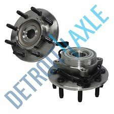 Pair: 2 New FRONT Driver and Passenger Wheel Hub And Bearing - w/ ABS 4x4