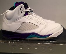 Authentic Nike Air Jordan 5 V Retro LS emerald Grape 2006 rare vintage size 10