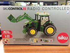 John Deere 7R With Front Loader Siku Remote Control Scale 1/32 Tractor Toy
