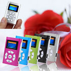 Mini USB Digital MP3 Music Player LCD Screen Support 32GB Micro SD TF Card NEW