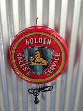 HOLDEN SALES & SERVICE BUTTON LIGHT 240V PERFECT BAR MAN CAVE HOT ROD