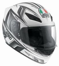 CASCO AGV K-4 EVO ARROW BLANCO/GUN METAL talla L