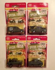 Majorette Military Special Forces Die Cast NEW! 220 Series Lot Of 4 Army Vehicle