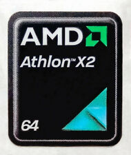 AMD Athlon 64 X2 Sticker 17 x 21mm Case Badge Logo Label USA Seller