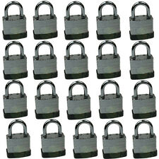 20pcs 40mm Heavy Duty Laminated Padlock, All Keyed Alike