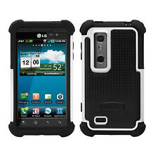 Ballistic Shell Gel Fitted Case/Skin for AT&T LG Thrill 4G AKA P925 & Optimus 3D