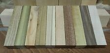 10 x WOODTURNING CHUNKY MIXED PEN BLANKS ! FREE POSTAGE!! 130x25x25 mm