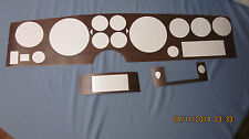 1973-77 grand prix gun stock vinyl woodgrain dash insert