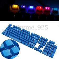 Translucent Blue Doubleshot ABS Backlit 104 KeyCaps for Cherry MX Keyboard