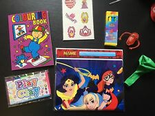 Superhero Girls Pre Filled Goody Bag, Ready Made Birthday Party Loot Favours