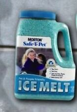 Morton Salt Safe-T-Pet Ice Melt Pet Dog Cat Ice Melter