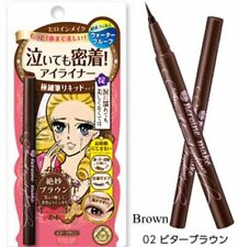 1 Pcs NEW Packing Heroine Kiss Me Make Better Brown Smooth Liquid Eyeliner
