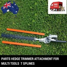 7 T HEDGE TRIMMER ATTACHMENT POLE LAWN BRUSH CUTTER WHIPPER SNIPPER MULTI TOOL