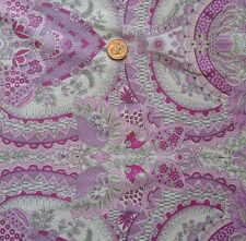 """Amy Butler SNAB002 Alchemy Studio Flora Berry Sateen 60"""" Fabric By the Yard BTY"""